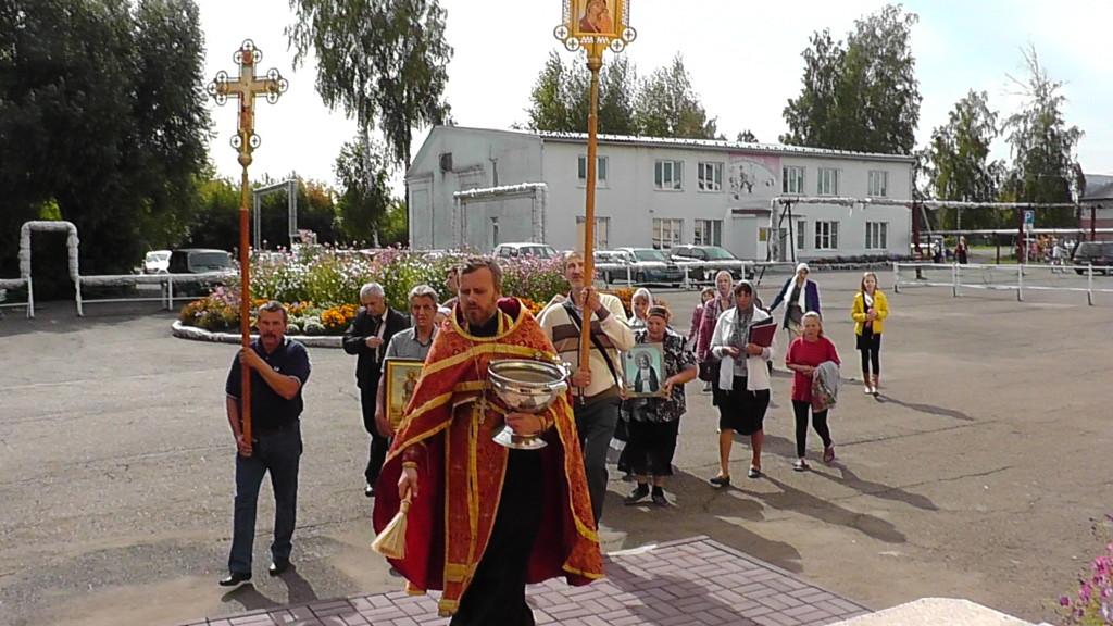 Крестный ход на престольный праздник 31 августа 2017г.